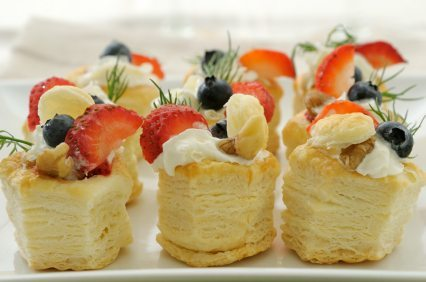 Fruit vol-au-vent